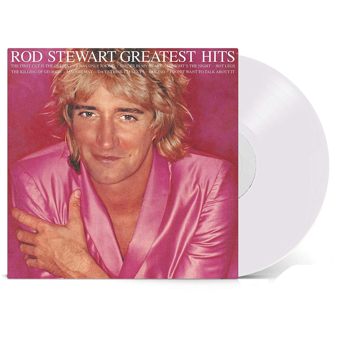 Rod Stewart - Greatest Hits Vol. 1 (National Album Day) 140g White Colour Vinyl Record Album