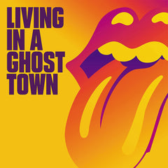 "The Rolling Stones - Living In A Ghost Town Orange Colour 10"" Vinyl Record"