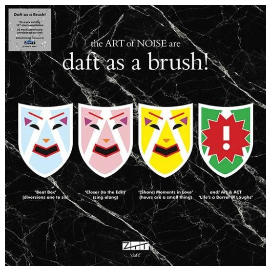 The Art Of Noise ‎– Daft As A Brush! RSD 2019 Limited Edition Vinyl Record Boxset, Vinyl, X-Records