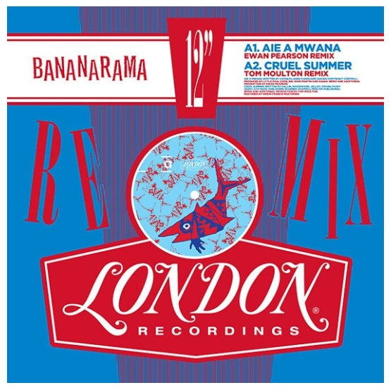 Bananarama ‎– Bananarama Remixed Vol 1 RSD 2019 Vinyl Record, Vinyl, X-Records