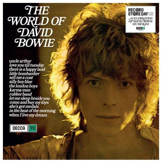 David Bowie ‎– The World Of David Bowie RSD 2019 Limited Vinyl Record