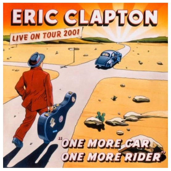 Eric Clapton ‎– One More Car, One More Rider RSD 2019 Colour Vinyl Record, Vinyl, X-Records