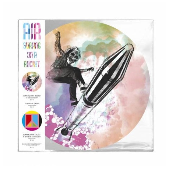 Air - Surfing On A Rocket RSD 2019 Limited Edition Picture Disc Vinyl Record, Vinyl, X-Records