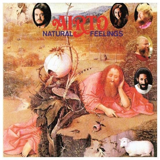 Airto ‎– Natural Feelings RSD 2019 Limited Edition Colour Vinyl Record, Vinyl, X-Records