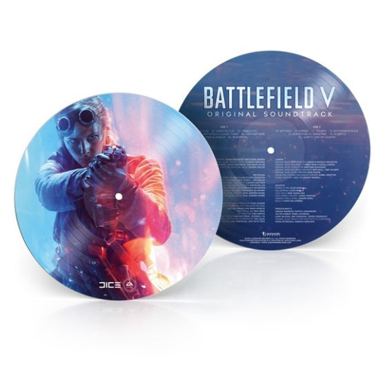 Battlefield Original Soundtrack RSD 2019 Limited Edition Picture Disc Vinyl Record, Vinyl, X-Records