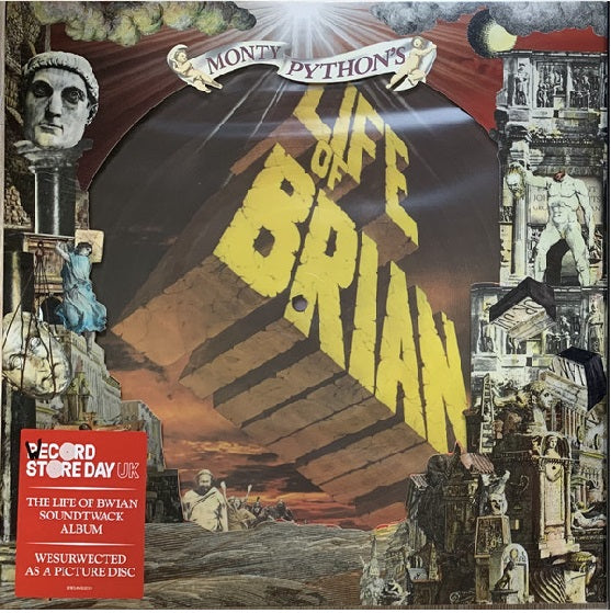 Monty Python ‎– Life Of Brian RSD 2019 Limited Picture Disc Vinyl Record, Vinyl, X-Records