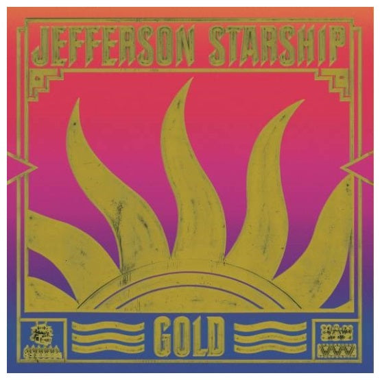 Jefferson Starship ‎– Gold RSD 2019 Limited Edition Colour Vinyl Record