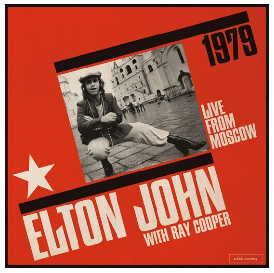 Elton John With Ray Cooper ‎– Live From Moscow RSD Limited 2019 Vinyl Record