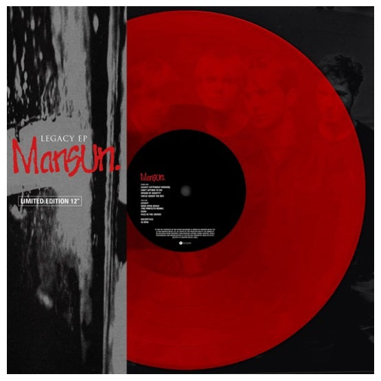 Mansun ‎– Legacy EP RSD 2019 Limited Edition Colour Vinyl Record
