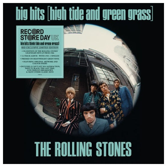 The Rolling Stones ‎– Big Hits (High Tide And Green Grass) RSD 2019 Vinyl Record