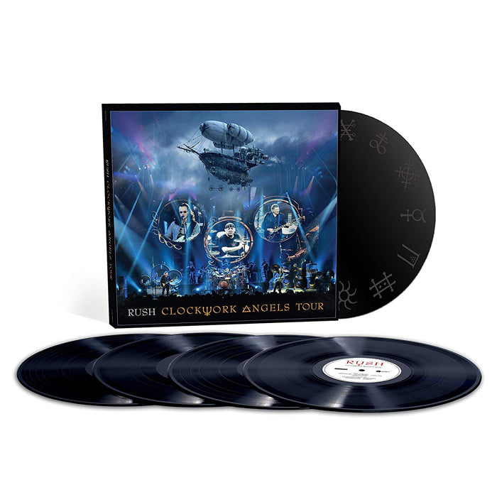 Rush - Clockwork Angels Tour Limited Edition Etched 5LP Vinyl Record Boxset, Vinyl, X-Records