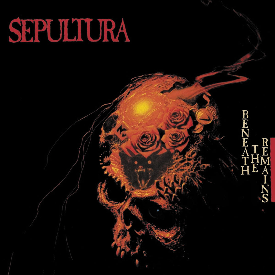 Sepultura	- Beneath The Remains (Deluxe Edition) 2LP 180g Vinyl Record Album