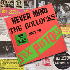The Sex Pistols - 1977: The Bollocks Diaries 40th Anniversary Book