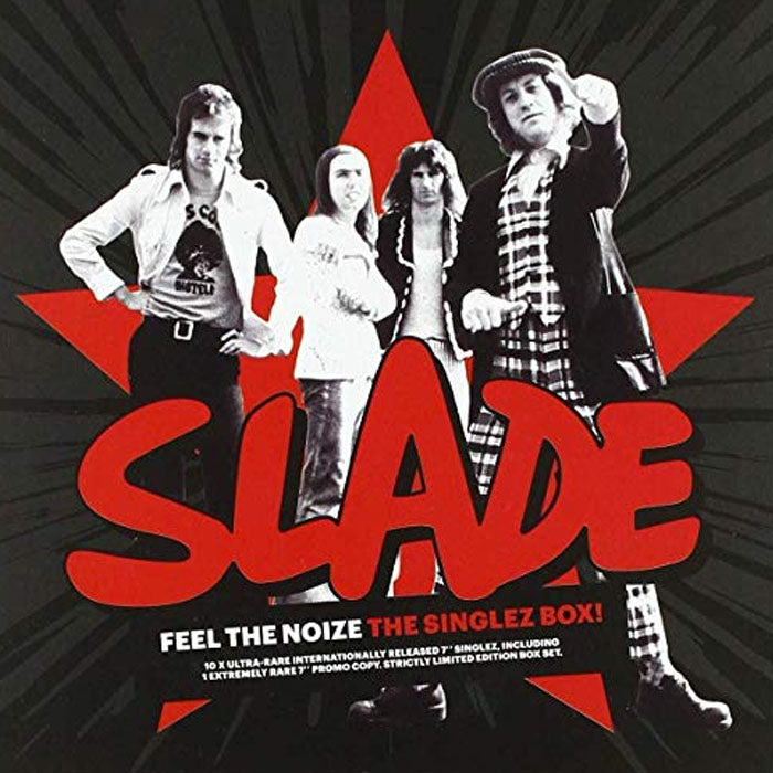 "Slade - Feel the Noize (The Singlez Box) 10x7"" Limited Edition Vinyl Record Boxset, Vinyl, X-Records"