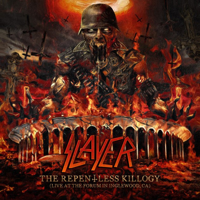 Slayer - The Repentless Killogy (Live At the Forum in Inglewood, CA) 2CD Album