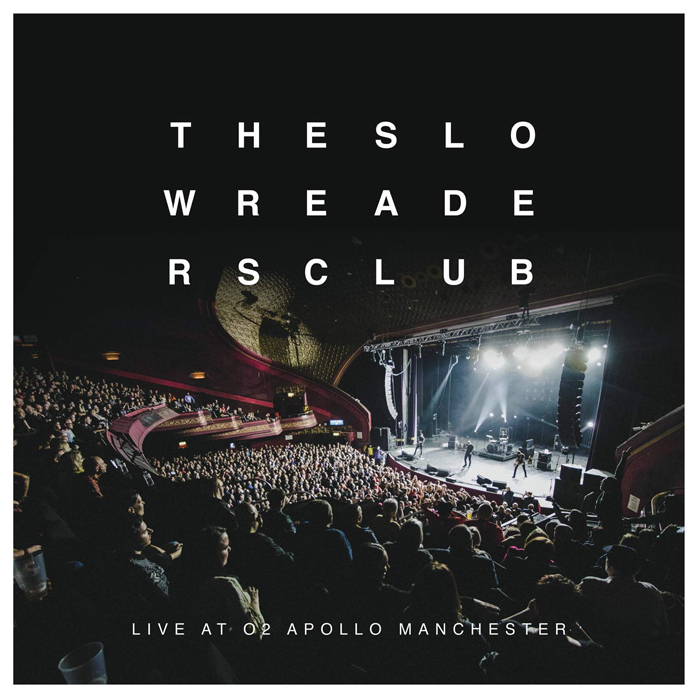 The Slow Readers Club - Live At The Apollo 2LP Clear Black Splatter Colour Vinyl Record + DVD, Vinyl, X-Records