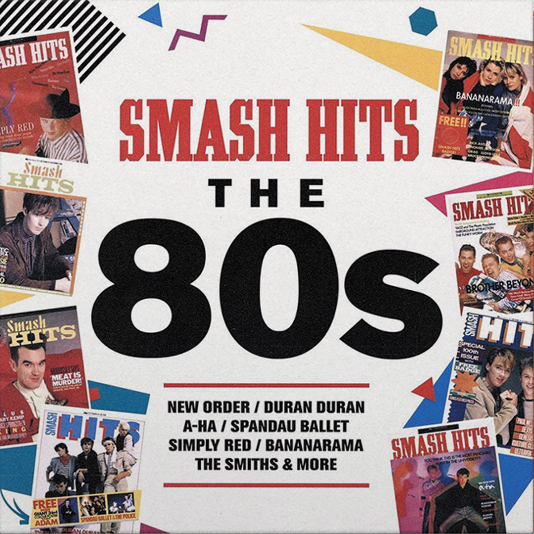 Smash Hits 80s - Smash Hits 80s (National Album Day) 2LP 180g Red Colour Vinyl Record Album