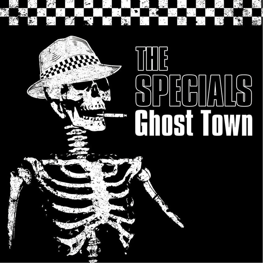 The Specials - Ghost Town Limited Edition Splatter Colour Vinyl Record Album