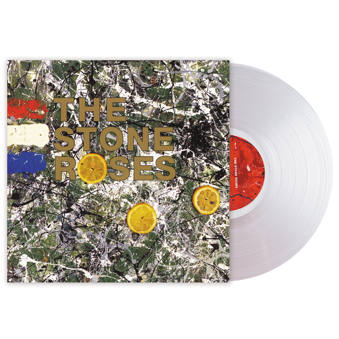 The Stone Roses - Stone Roses (National Album Day) Clear Colour Vinyl Record Album