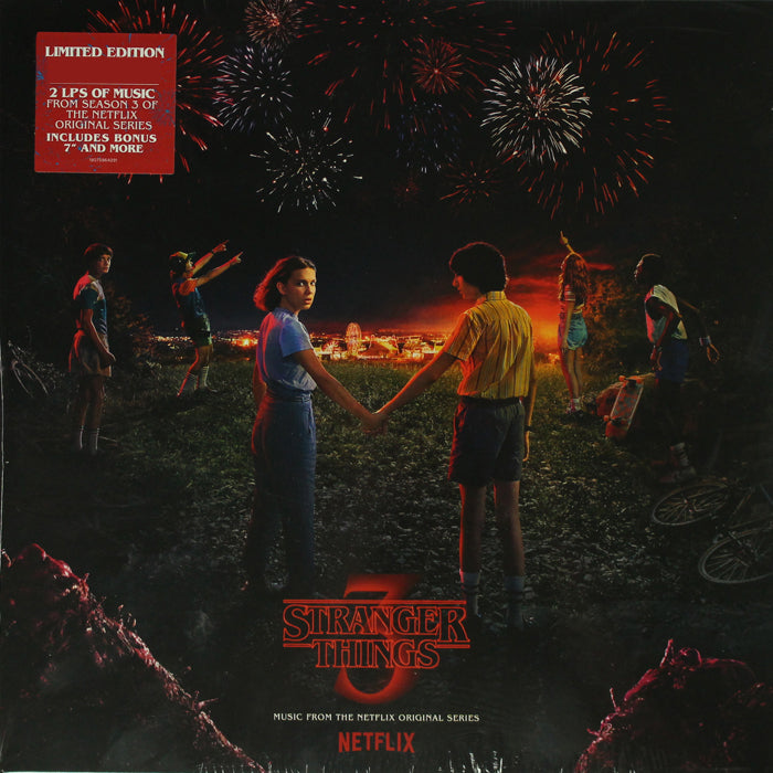 "Stranger Things 3 - (Netflix Original Series) 2LP + 7"" Vinyl Record, Vinyl, X-Records"