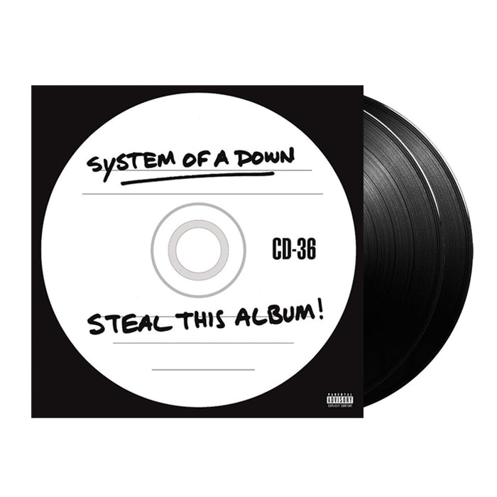 System Of A Down - Steal This Album! 2LP Vinyl Record Album, Vinyl, X-Records