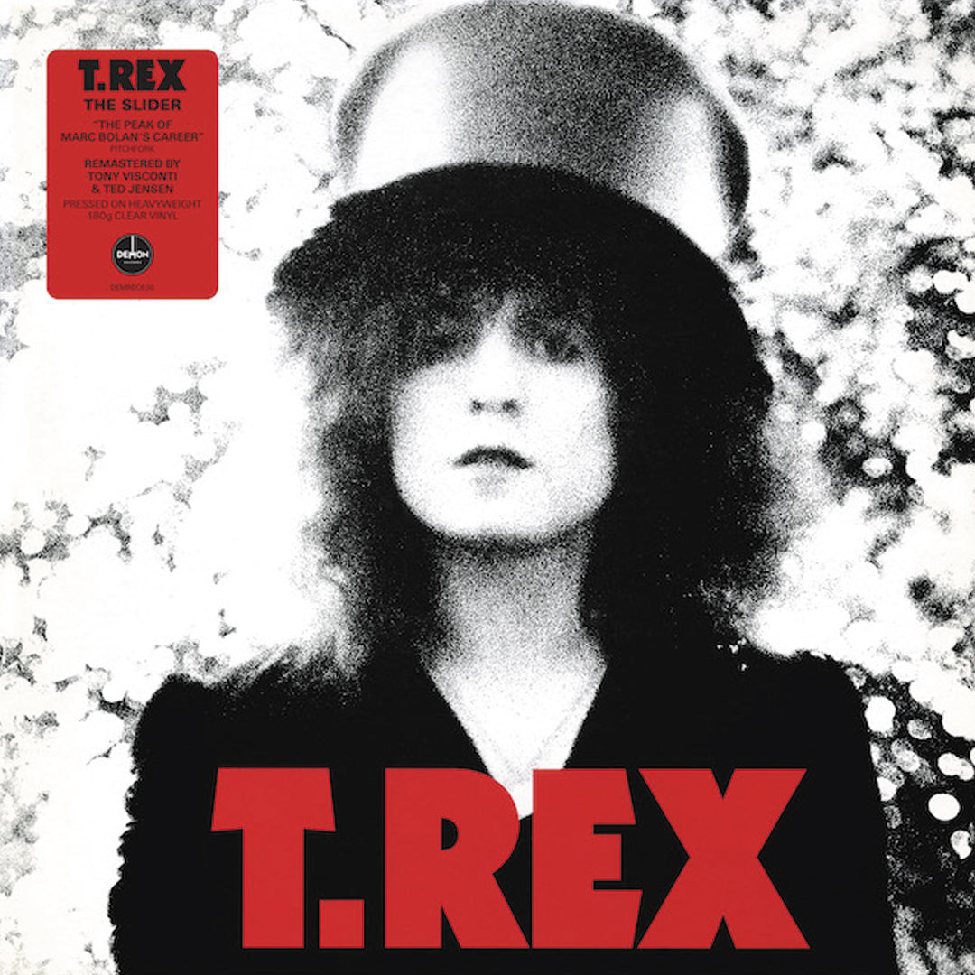 T.Rex - The Slider 180g Clear Colour Vinyl Record Album