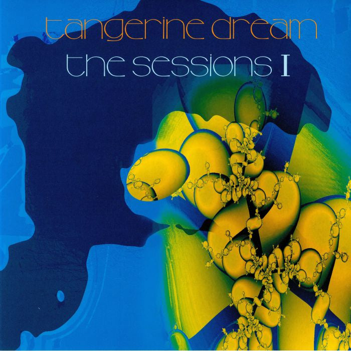 Tangerine Dream ‎– The Sessions I 140g Clear Colour Vinyl Record Album