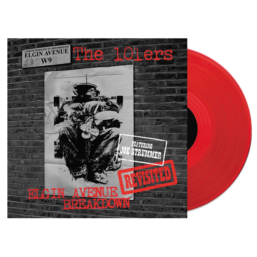The 101ers ‎– Elgin Avenue Breakdown Revisited 2LP Red Colour Vinyl Record Album