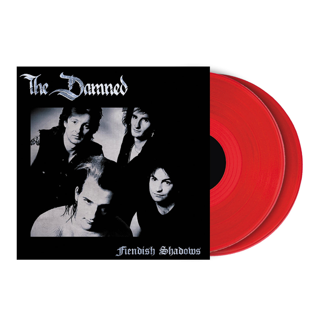 The Damned - Fiendish Shadows Limited Edition 2LP Red Colour Vinyl Record Album