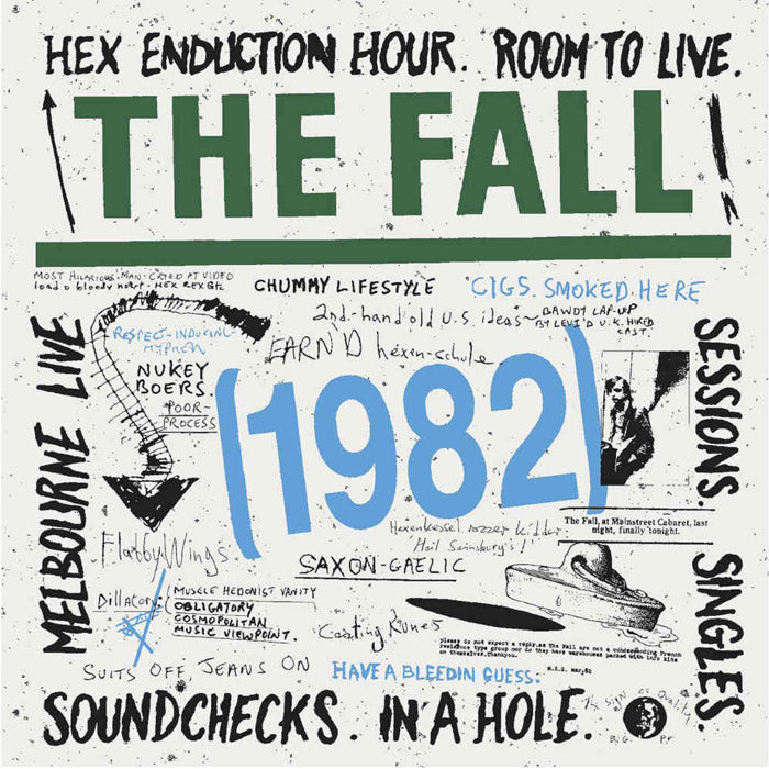 The Fall - 1982 Limited Edition 6CD Boxset, Pre-order, X-Records