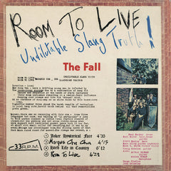 The Fall - Room To Live Limited Edition Marble Colour 2LP Vinyl Record Album, Pre-order, X-Records