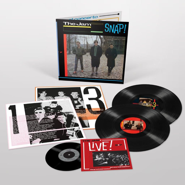 "The Jam - Snap! Limited Edition 2LP Vinyl Record Album + 7"", Vinyl, X-Records"