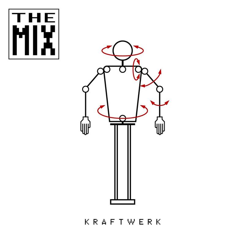 Kraftwerk - The Mix Limited Edition 2LP White Colour Vinyl Record Album