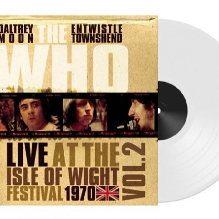 The Who ‎– Live Isle Of Wight Festival 1970 Vol.2 Colour Vinyl Record