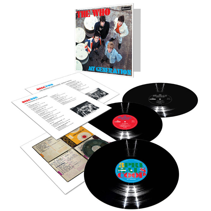 The Who ‎– My Generation 3LP Limited Edition Vinyl Record Album