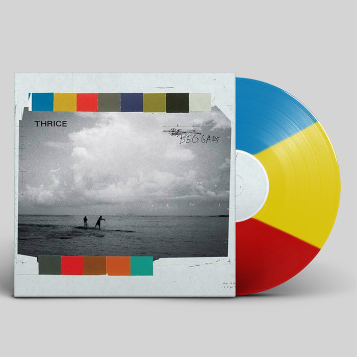 "Thrice - Beggars 10th Anniversary Edition (Striped Colour Vinyl + Bonus 7"") Record Album, Vinyl, X-Records"