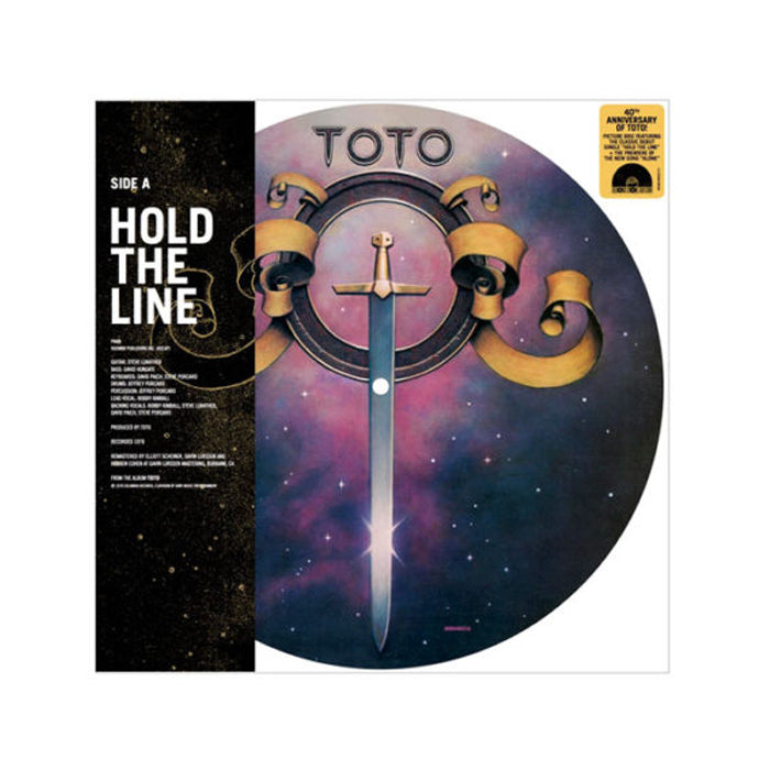 "Toto ‎– Hold The Line / Alone RSD 10"" Picture Disc Vinyl Record, Vinyl, X-Records"