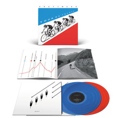 Kraftwerk - Tour De France Limited Edition 2LP Translucent Red/Blue Colour Vinyl Record Album