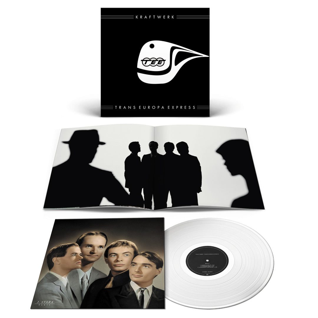 Kraftwerk - Trans Europe Express Limited Edition Clear Colour Vinyl Record Album