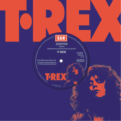 "T. Rex - Jeepster (Alternative Version) 7"" Blue Colour Vinyl Record"