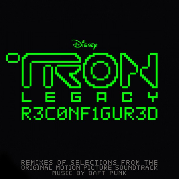 Daft Punk - Tron Legacy Reconfigured (RSD 2020 Drop Three) 2LP Translucent Green Colour Vinyl Record Album