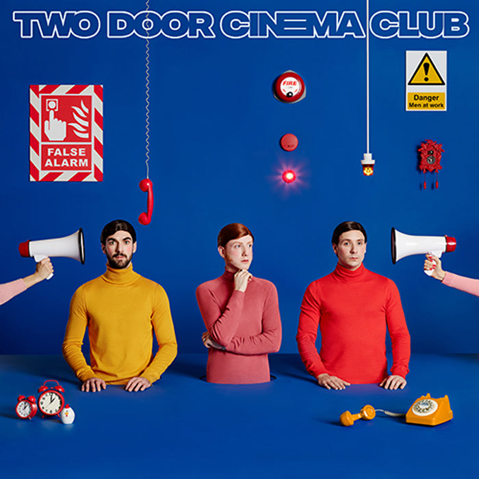 Two Door Cinema Club - False Alarm Limited Edition Blue Colour Vinyl Pre-Order, Vinyl, X-Records