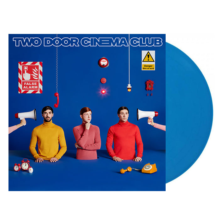 Two Door Cinema Club - False Alarm Limited Edition Blue Colour Vinyl Pre-Order