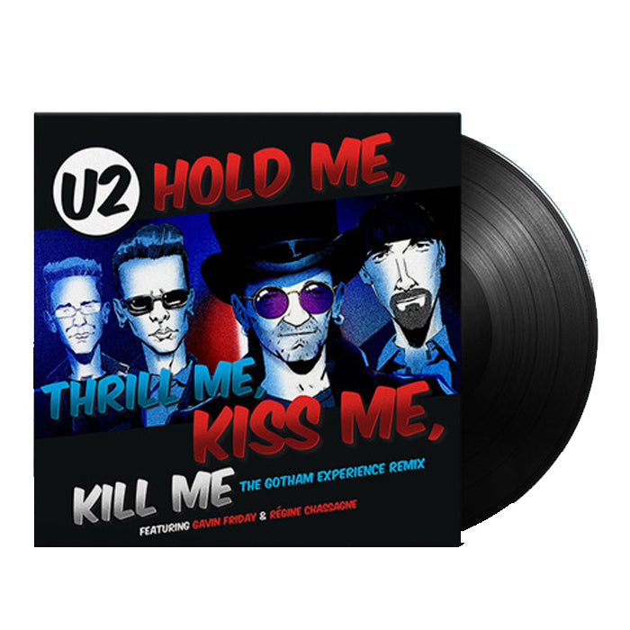 "U2 ‎– Hold Me, Thrill Me, Kiss Me, Kill Me RSD Limited Edition 12"" Vinyl Record Single, Vinyl, X-Records"