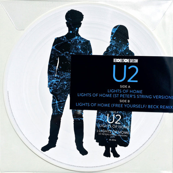 U2 ‎– Lights Of Home Limited Edition RSD Picture Disc Vinyl Record Album, Vinyl, X-Records