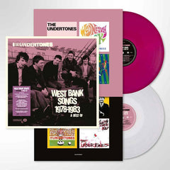 The Undertones - West Bank Songs 1978-1983 2LP Purple/White Colour Vinyl Record Album