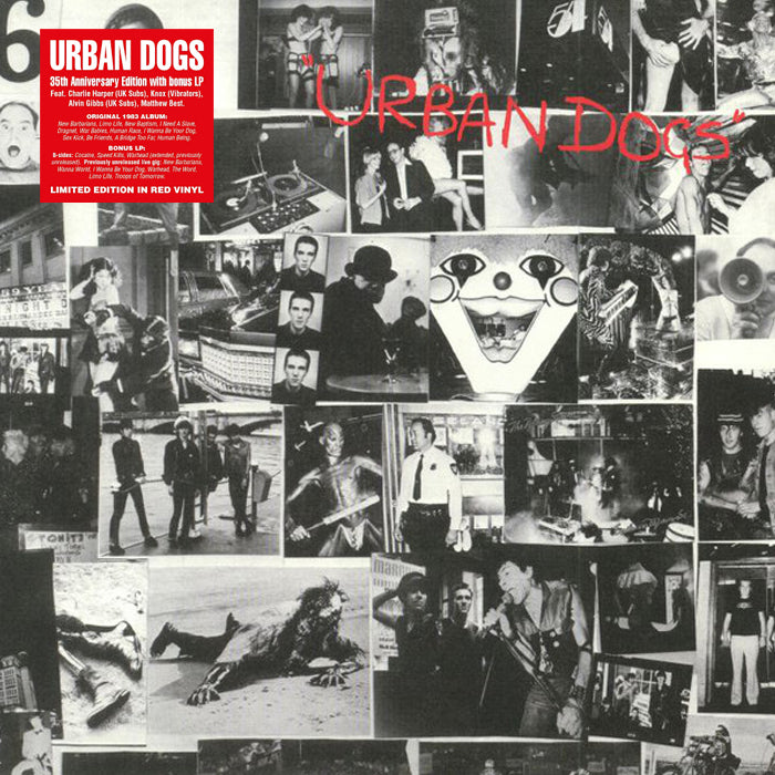 Urban Dogs ‎– Urban Dogs RSD 2LP Red Colour Vinyl Record Album, Vinyl, X-Records