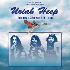 Uriah Heep ‎– The High And Mighty Tour White Colour Vinyl Record Album, Vinyl, X-Records