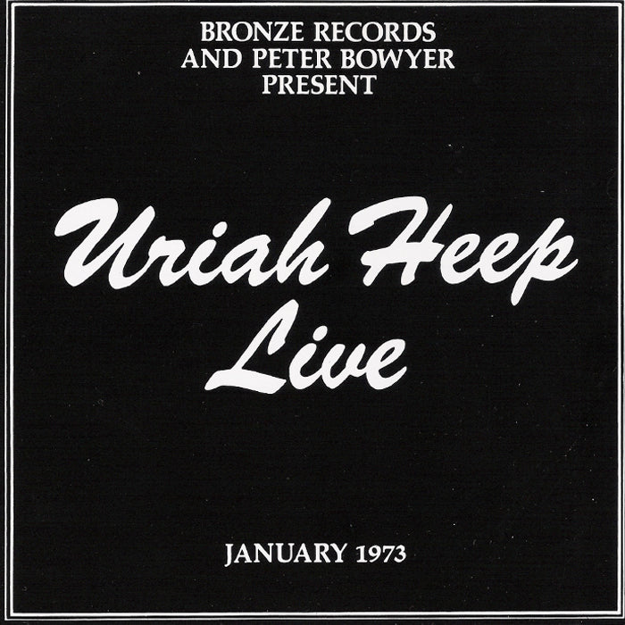 Uriah Heep ‎– Uriah Heep Live RSD 2LP Splatter Colour Vinyl Record Album, Vinyl, X-Records