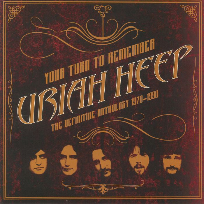 Uriah Heep ‎– Your Turn To Remember - The Definitive Anthology 1970-1990 2LP 180g Vinyl Record Album, Vinyl, X-Records